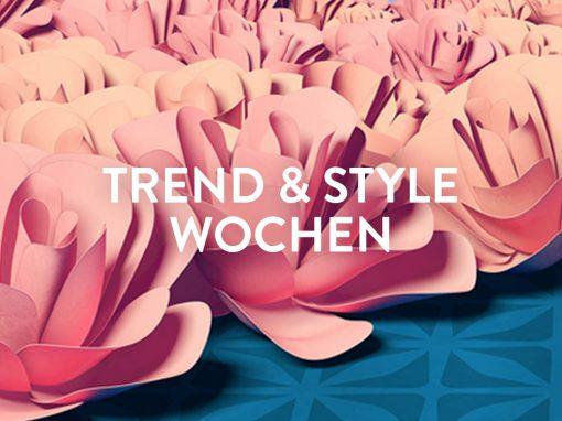Gerngross Trend & Style Wochen Kampagne